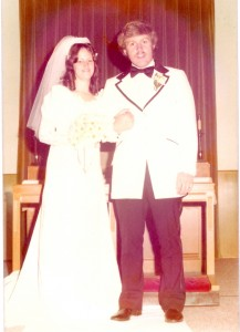 May 25, 1974 I married the most wonderful guy!!